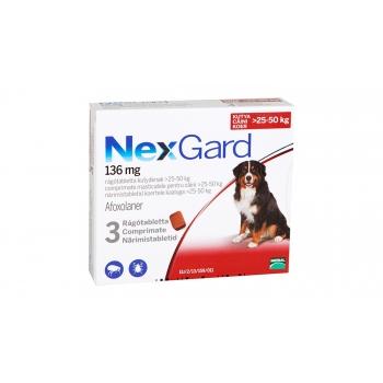 Nexgard Xl, 25-50 Kg, 3 Comprimate imagine