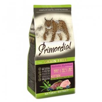 Primordial Holistic Cat Kitten Rata si Curcan, 6 kg