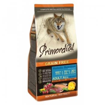 Primordial Holistic Dog Adult Rata si Pastrav, 12 kg