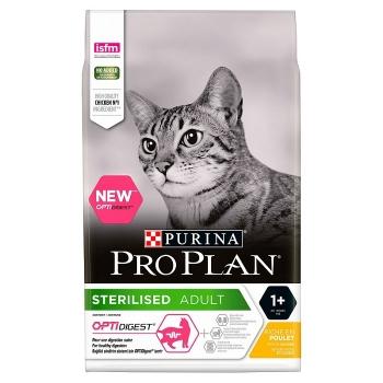 Pro Plan Sterilised Cat Optidigest Pui, 400 g