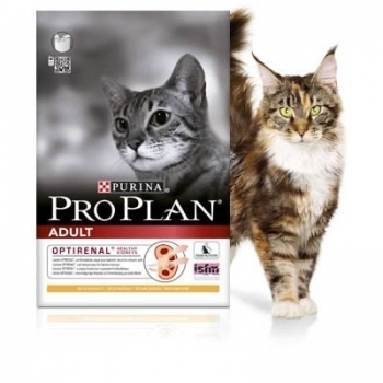 2 x Pro Plan Cat Adult Pui si Orez 1,5 kg