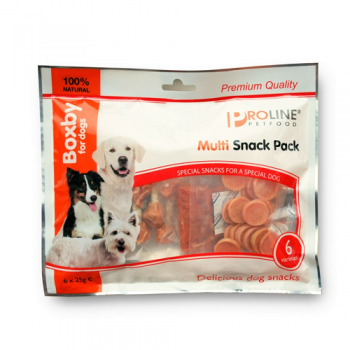 Proline Multi Snack Pack  6 pachete x 25  g