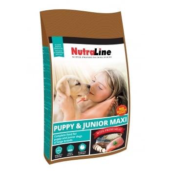 Nutraline Dog Puppy&Junior Maxi, 12.5 kg