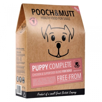 Hrana Uscata PoochΜtt Grain Free, Puppy,1 kg