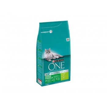 Purina ONE Indoor Cat cu Curcan, 1.5 Kg