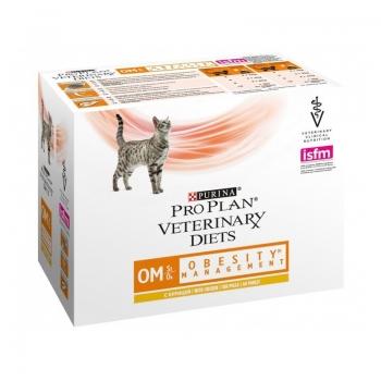 Purina Veterinary Diets Feline OM Pui 10 x 85 g