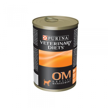 Purina Veterinary Diets OM Dog dieta obezitate 400 g