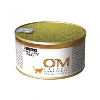 Purina Veterinary Diets OM Cat - Dieta Obezitate 195 g