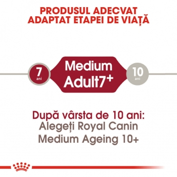 Royal Canin Medium Adult 7+, 10 kg