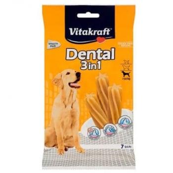 Recompense Vitakraft Dental Snack 3In1 Medium, 180 g