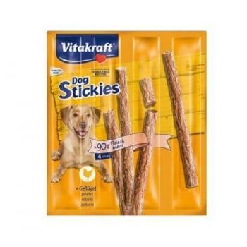 Recompense Vitakraft Dog Stickies Pasare 4 Buc, 44 g