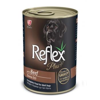 Reflex Plus Dog Cu Vita In Sos, 400 G imagine