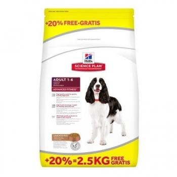 Hill's SP Canine Medium Adult Miel si Orez 12 kg + 2.5 kg GRATIS
