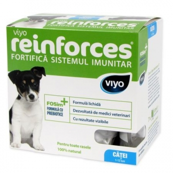 Supliment Nutritiv Viyo Reinforces Dog Puppy 7 x 30 ml