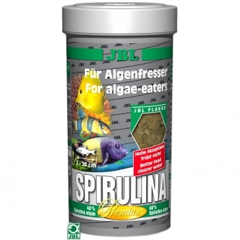 Hrana pentru pesti JBL Spirulina, 250 ml