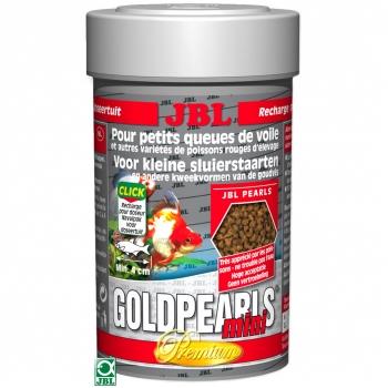 Hrana pentru pesti JBL GoldPearls Mini, 100ml