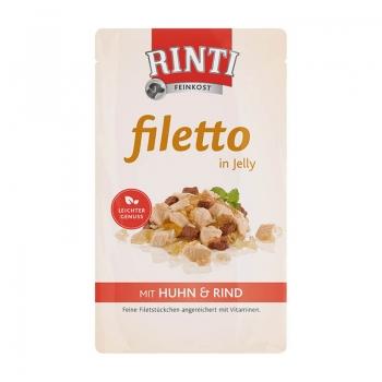 Plic Rinti Filleto Jelly Pui Si Vita 125 g