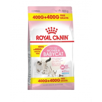 Royal Canin Mother & Babycat, 400 g + 400 g Gratis