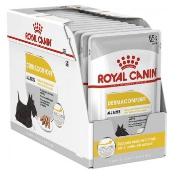 Pachet Royal Canin Derma Comfort Loaf, 12 X 85 g imagine