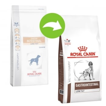 Royal Canin Gastro Intestinal Low Fat Caine, 1.5 kg