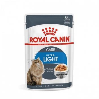 Royal Canin Ultra Light in Jelly, 85 g imagine