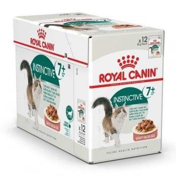 Pachet Royal Canin Instinctive 7+ 24 x 85 g imagine