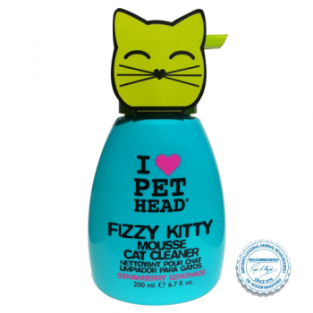 Pet Head Mousse Fizzy Kitty 200  ml