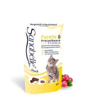 Sanabelle Snack Pastrav si Merisor, 55 g