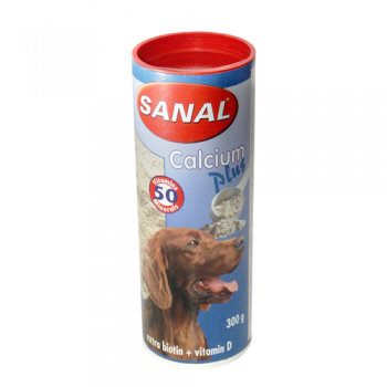Supliment Nutritiv Sanal Dog Calcium Plus 200 g