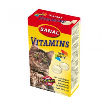 Supliment Nutritiv Sanal Cat MultiVitamins 85 tablete