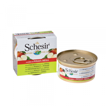 Schesir Cat Conserva Fruit Pui si Mar 75 g