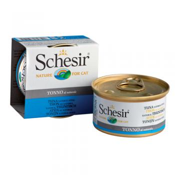 Schesir Cat Conserva Ton in Suc Propriu 85 g