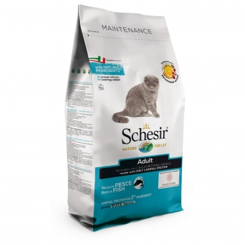 Schesir Cat Adult Maintenance Peste, 1,5 kg