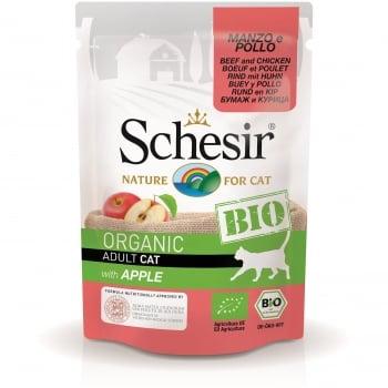 Schesir Cat Bio Vita, Pui si Mar, Plic 85 g