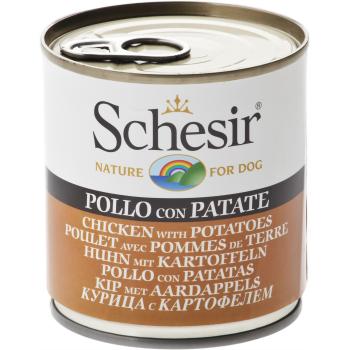 Schesir Dog Adult Pui si Cartof, 285 g imagine