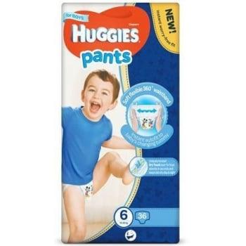 Scutece Chilotel Huggies Mega Pack 6, Boy, 15-25 Kg, 36 buc