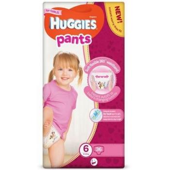 Scutece Chilotel Huggies Mega Pack 6, Girl, 15-25 Kg, 36 buc