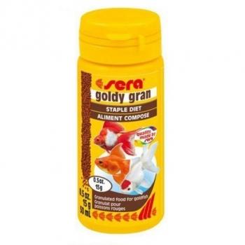Hrana Granulata pentru Pesti Sera Goldy Gran 50 ml