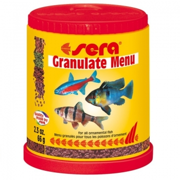 Hrana pentru Pesti Sera Granulate Menu 150 ml