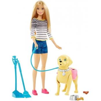Set Barbie Family Catel Si Accesorii