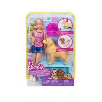 Set Barbie Gama Family Barbie si Catelusii