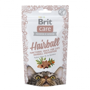 Snack Brit Care Cat Hairball, 50 g