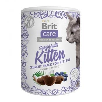 Snack Brit Care Cat Superfruits, Kitten, 100 g
