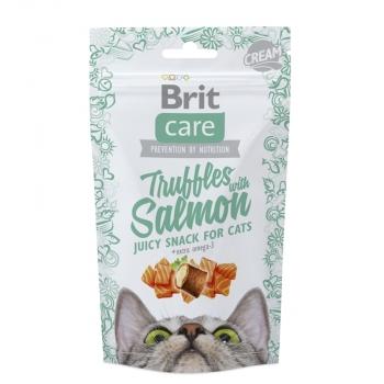 Snack Brit Care Cat Truffles cu Somon, 50 g