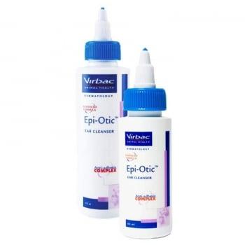 Solutie de Curatat Urechile Virbac Epi-Otic III, 60 ml
