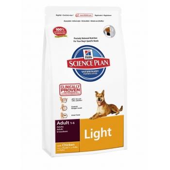 Hill's SP Canine Adult Light cu Pui 3 kg