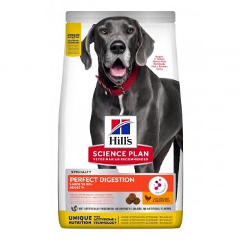 HILL'S Science Plan Large Adult, Pui cu Orez Brun, pachet economic hrană uscată câini, sensibilități digestive, 14kg x 2