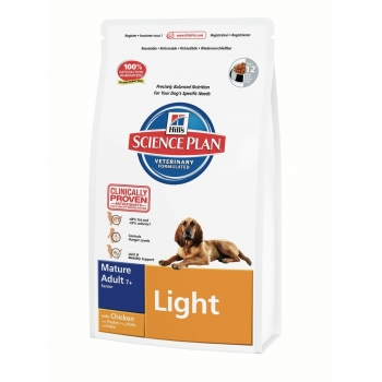 Hill's SP Canine Mature Adult 7+ Light cu Pui 12 kg