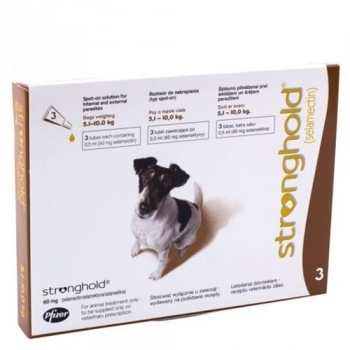 Stronghold Caine 60 mg, 5 - 10 kg, 3 pipete