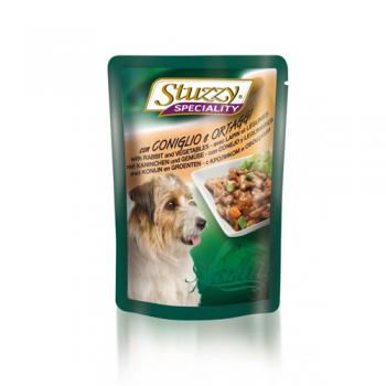 Stuzzy Dog Speciality Iepure si Legume 100 g